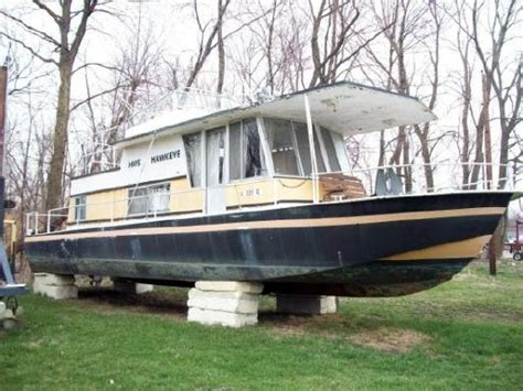 river house boats for sale 1970 river queen houseboat boats yachts for sale
