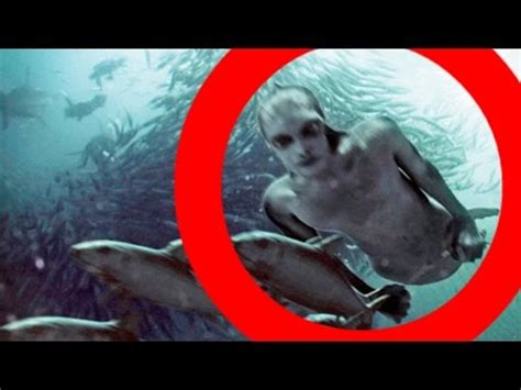 real mermaids (and merman) caught on camera!? (mermaid