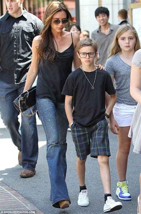romeo beckham eye color romeo beckham rocks the geek chic look in stylish