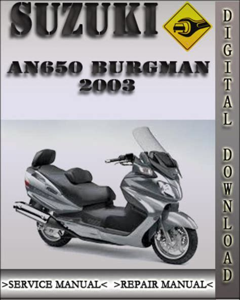 Download An650 Burgman Service Manual Free Matterfiles