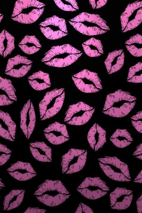 wallpaper iphone kiss kiss marks iphone wallpaper hd