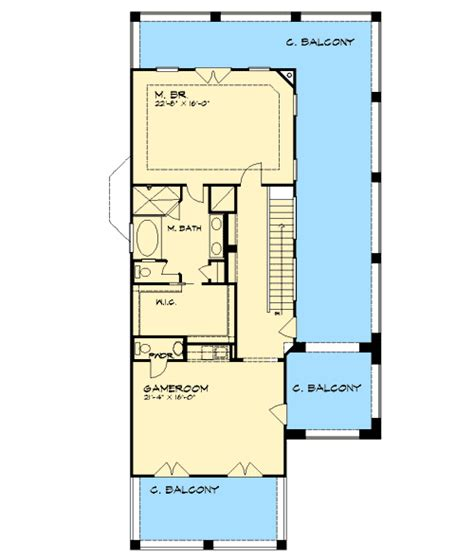 2nd floor balcony plans spanish style home with covered balconies 36857jg 2nd