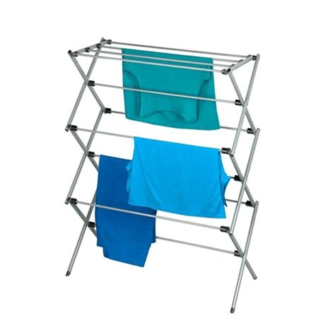Accordion Drying Rack by Honey Can Do Accordion Drying Rack In Deluxe Steel