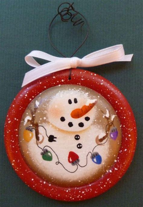 hand painted ornaments ideas  pinterest