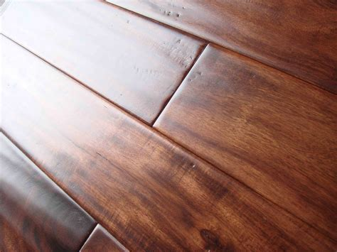 Acacia Hand Scraped Hardwood Flooring Pros and Cons