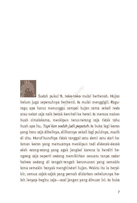 Harga Buku Novel Hujan Bulan Juni by Jual Buku Hujan Bulan Juni Sebuah Novel Cover