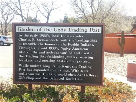 garden of the gods trading post picture of garden of the