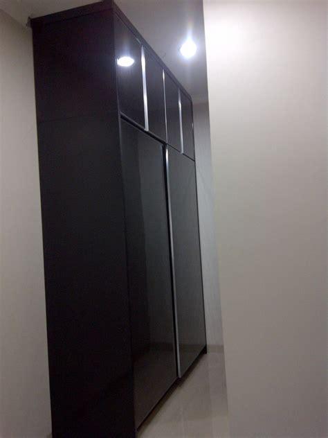Lemari Pakaian Stainless Steel finished project mrs erni park kitchen set