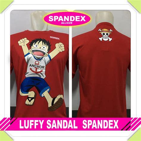 Terlaris Kaos Baju Distro Anime Note Spandex jual jual kaos baju distro anime kartun luffy sandal spandex murah 266 di lapak calya