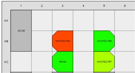 grid layout different width grid numbering for room layout and variable width and