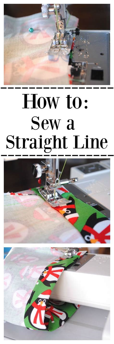 How To Sew A Straight Line Sewing Classes Lesson 1