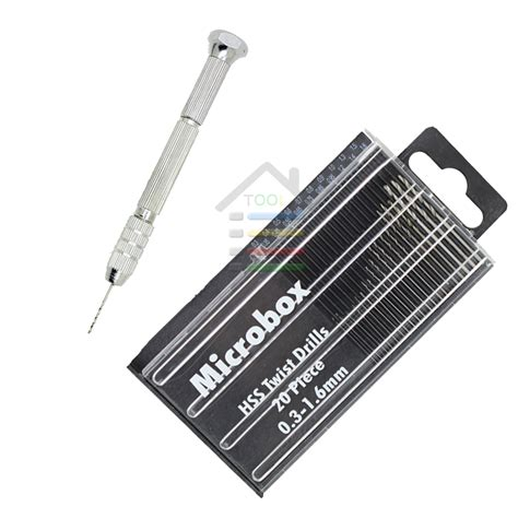21 Pcs Mini Drill Set 0 3 1 6mm Lyk Small Alumunium Drill hss micro twist drill bits set 0 35 1 6mm high speed steel