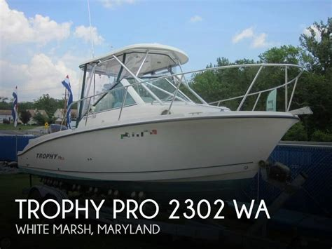trophy boats for sale md used power boats trophy boats for sale in maryland united