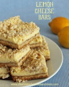 Lemon Bar Topping by Chocolate Cheesecake Bars Chocolate Chocolate And