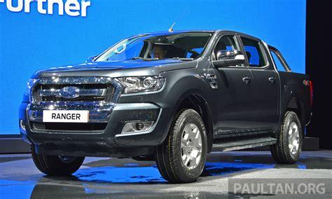 ford ranger 2015 2015 ford ranger facelift makes world debut in thailand