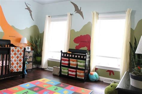 dinosaur themed bedroom diy dinosaur themed nursery hometalk