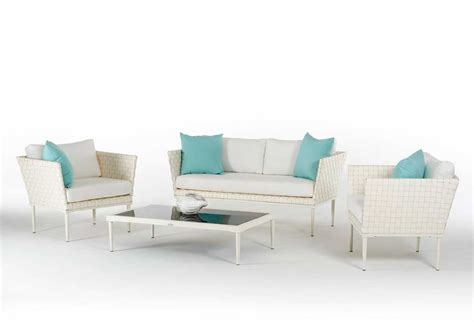 white wicker sofa set vg492 outdoor furniture sets