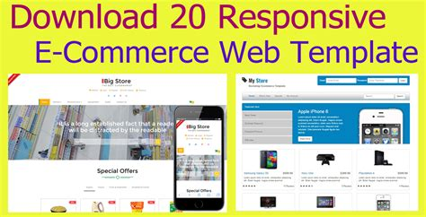 Download 20 Responsive Free E Commerce Template 2017 Maniruzzaman Akash S Blog Free Responsive Ecommerce Website Templates