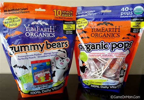 Halloween Giveaways Not Candy - fruity delicious organic halloween candy from yumearth giveaway game on mom