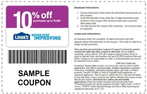 lowes coupons 2016 pottery barn furniture for sale