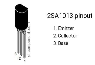 a1013 transistor replacement 2sa1013 p n p transistor complementary npn replacement pinout pin configuration substitute