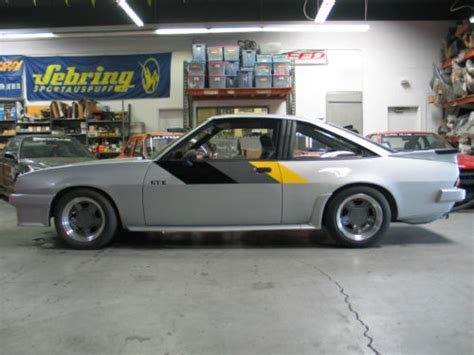 1975 opel manta 1975 opel manta b irmscher gt e german cars for sale blog
