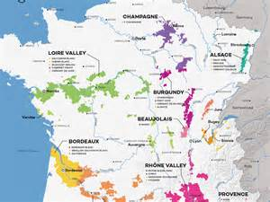 France Wine Regions Map by French Wine Exploration Map Wine Folly