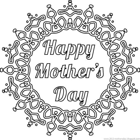 free coloring card templates wallpaper free printable mothers day card