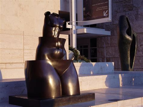 sculpture outside design museum london panoramio photo of outdoor sculpture at getty center