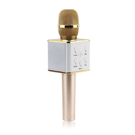 Mic Karaoke Bluetooth Q7 1 ktv q7 wireless karaoke handheld microphone usb ktv player bluetooth mic speaker ebay
