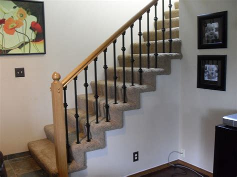 How To Replace A Banister by Baluster Replacement Traditional Staircase Portland