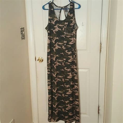 Dress Army Maxi 60 dresses skirts army fatigue maxi dress from