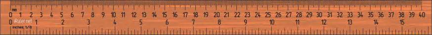image gallery inch ruler on screen