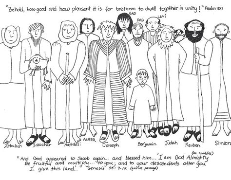 free bible coloring pages joseph and his brothers joseph s brothers worksheet bible joseph