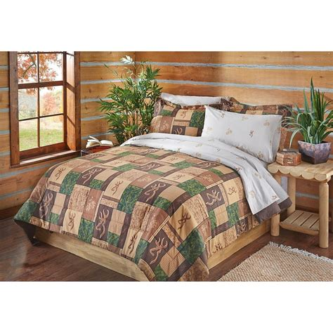 browning bed sets browning patchwork bed set 653836 comforters at