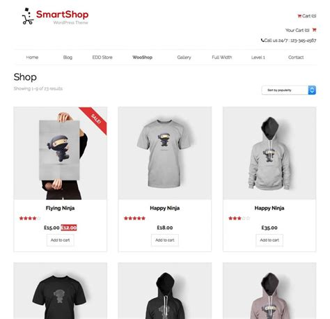 Theme Toko Online Woocommerce | 35 responsive best free woocommerce wordpress themes 2016