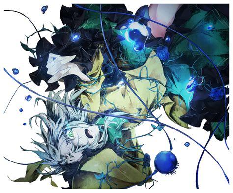 Anime Art Falling Koishi Komeiji Render By Ani07 On Deviantart