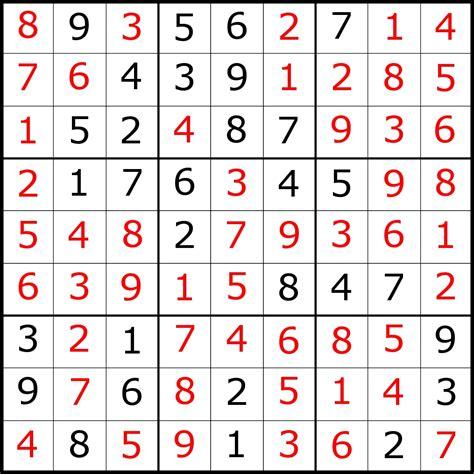printable sudoku answer sheet sudoku with answers sudoku answers el diamante s the dig