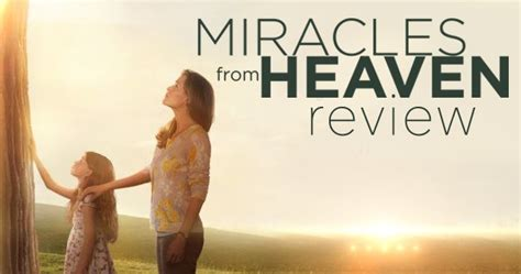The Miracle From Heaven Free Miracles From Heaven Movieguide Reviews For Christians