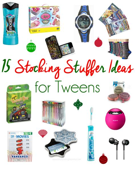 fun stocking stuffers stocking stuffer ideas for tweens unique stocking stuffer