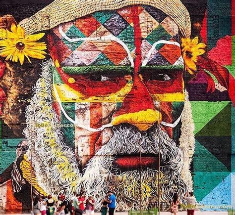 las etnias il murale piu grande del mondo realizzato da