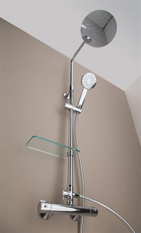 supporto doccia per asta saliscendi doccia soffione e doccetta con asta saliscendi cose di casa