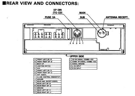 car audio wire diagram codes nissan infiniti factory car stereo repair bose stereo