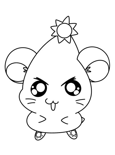 coloring page hamtaro coloring pages 16