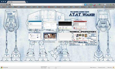 blueprint plans star wars at at walker blueprints chrome theme themebeta