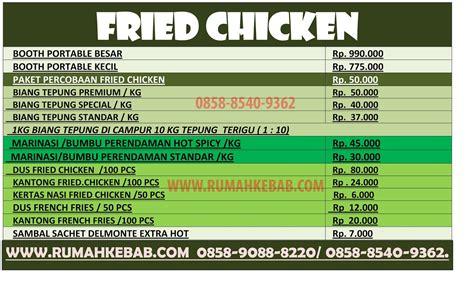 daftar harga produk kn food supplier bahan baku kebab