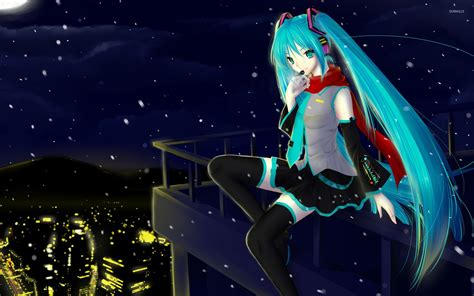wallpaper anime hatsune miku hatsune miku 8 wallpaper anime wallpapers 11931