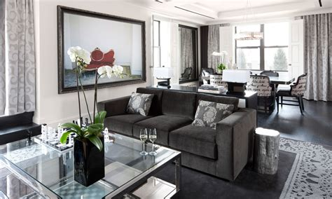 the living room restaurant upper east side penthouse suite luxury hotel nyc the