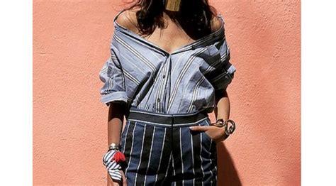Atasan One Shoulder Nagita Slavina 6 trik modifikasi kemeja kantor jadi lebih stylish