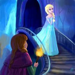 anna elsa frozen fan art 35818660 fanpop 12